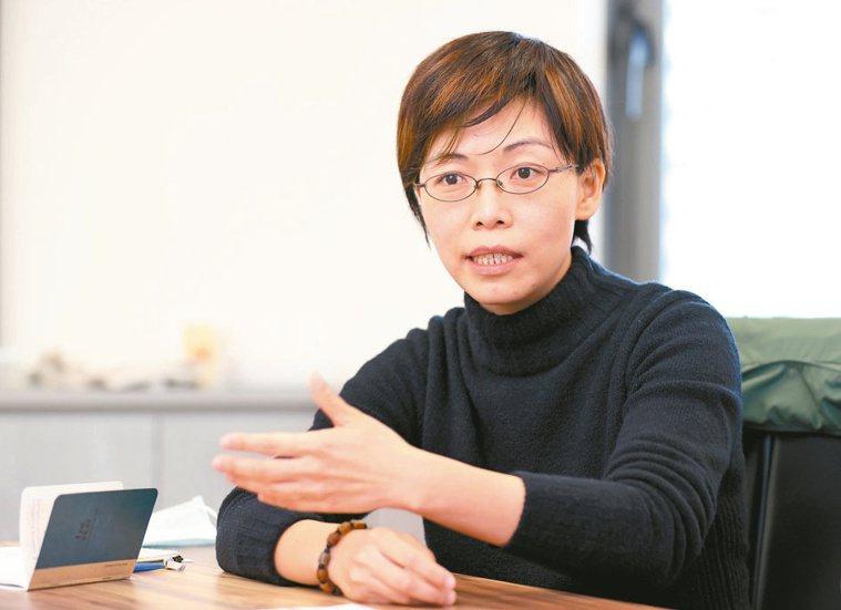 香港中文大學生物科技研究院院長江宜蓁。記者余承翰╱攝影