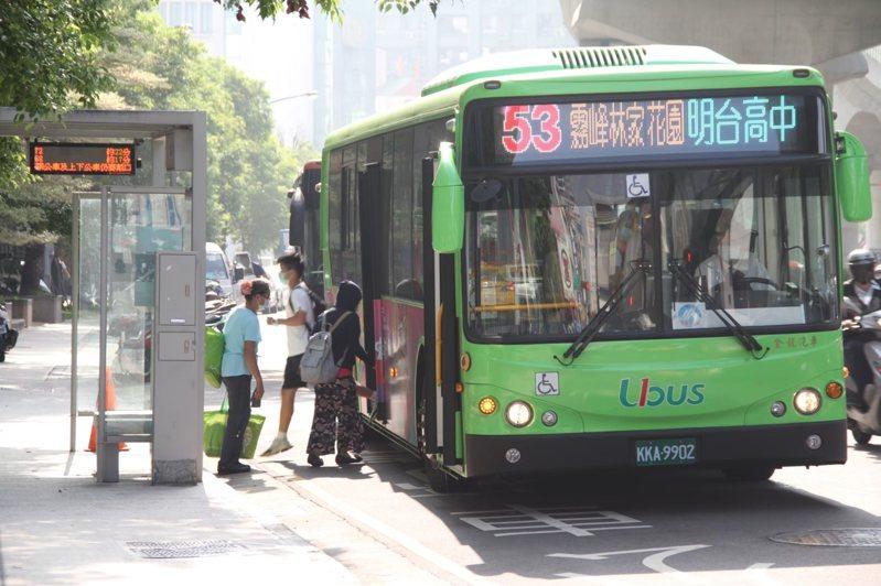 中捷綠線預計4月25日正式通車,目前800路、53路公車屆時將改號並調整路線。圖/台中市交通局提供