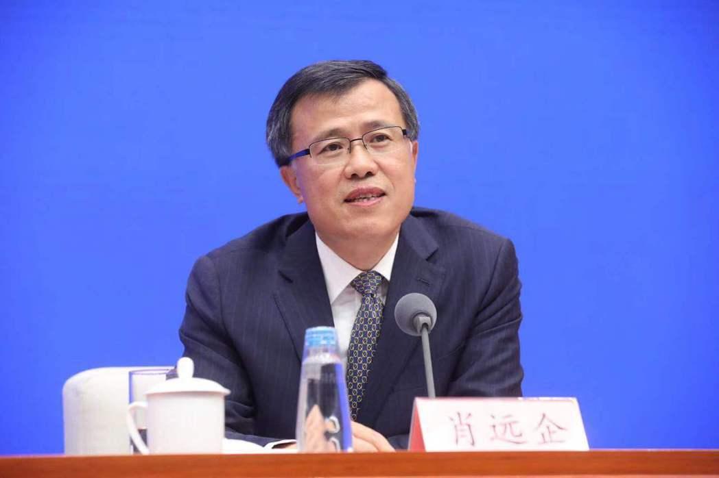 銀保監會副主席肖遠企。(網路照片)