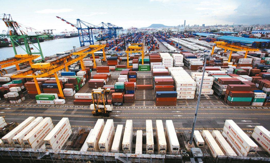 隨著國內景氣升溫、國際貨運成本持續增加,通貨膨脹疑慮受到各界關注。本報資料照片