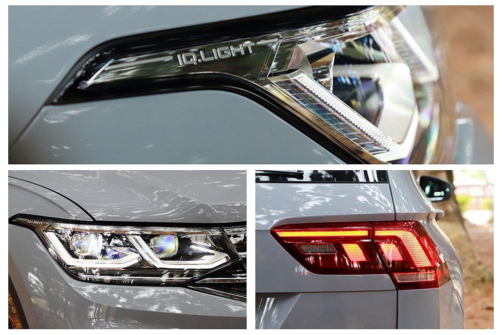 Elegance車型標配IQ.LIGHT燈組,包含LED Matrix矩陣式頭燈...