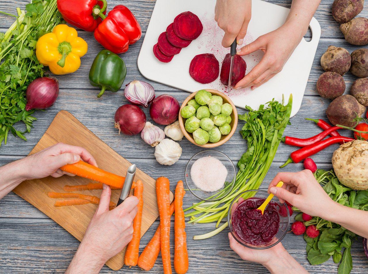 如何吃素才健康?營養師建議選擇吃蛋奶素。圖/123RF