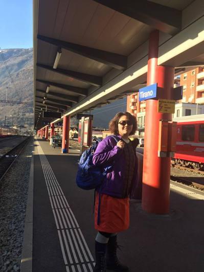 王琄喜歡旅行,生活多采多姿。圖/摘自臉書