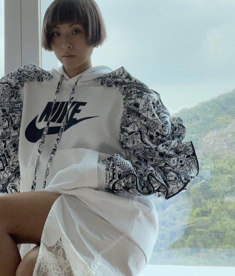 陳奕迅老婆徐濠縈因社群還留有與Nike相關貼文,遭陸網圍剿。圖/摘自IG