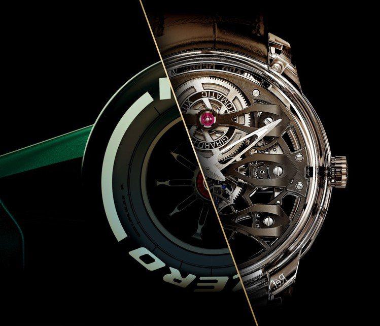 瑞士高級鐘表品牌芝柏(Girard Perregaux)甫於二月宣布與英國汽車品...