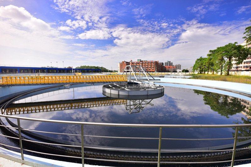 台中市府水利局開放福田、文山及水湳水資源回收中心給工業或科技業申請設置短期淨水設施。圖/台中市政府提供