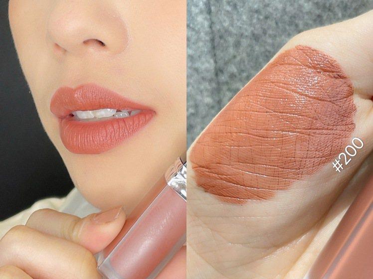 迪奧超完美持久唇露色彩飽和及輕盈質地,讓後疫情時代女性立即圈粉。記者劉小川/攝影