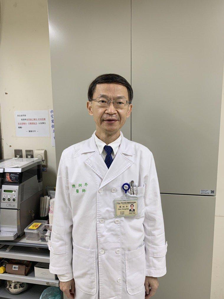 陳炯年台大醫院外科部副主任 圖/陳炯年提供