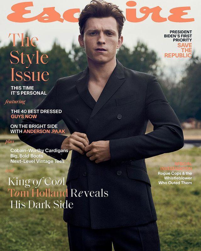 湯姆霍蘭德愈來愈走紅,也登上時尚雜誌封面。圖/摘自Instagram
