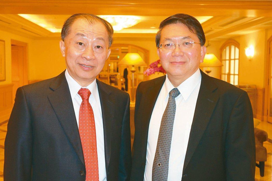 台康生技董事長李重和(左)與總經理劉理成(右)(本報系資料庫)