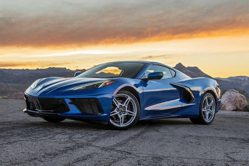 2月最快賣出的汽車是Chevrolet Corvette C8。 摘自Chevr...