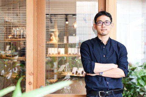楊豐旭在30歲時生涯軌跡大逆轉,毅然走向自己所愛的甜點烘焙之路。 圖/吳致碩攝影