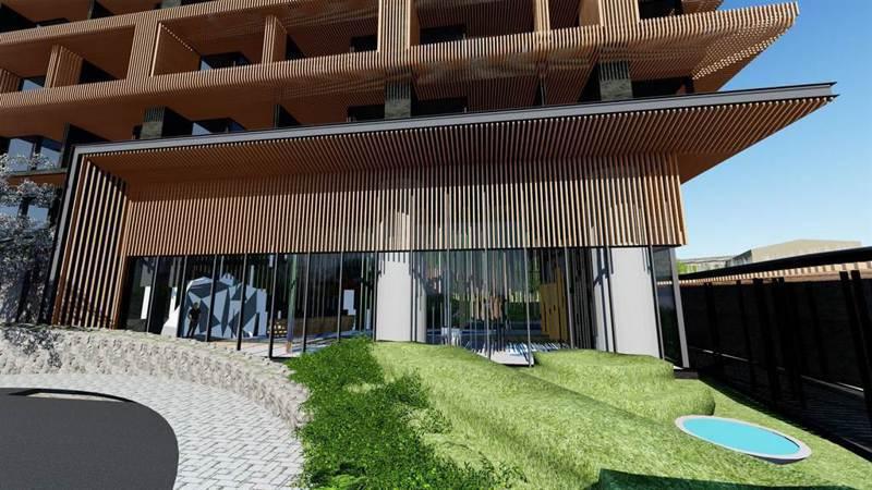 阿里山英迪格酒店配置84間客房,附設頂樓戶外酒吧、全日餐廳、屋頂觀星平台等設施。圖/嘉義縣政府提供
