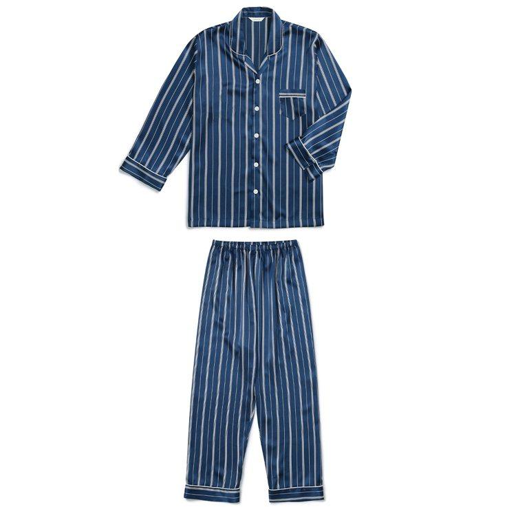 EVENIE的條紋睡衣。圖/取自EVENIE.co.kr