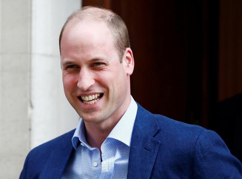 威廉王子在英國的機構調查結果,當然一定是「性感光頭男」第一名。圖/路透資料照片
