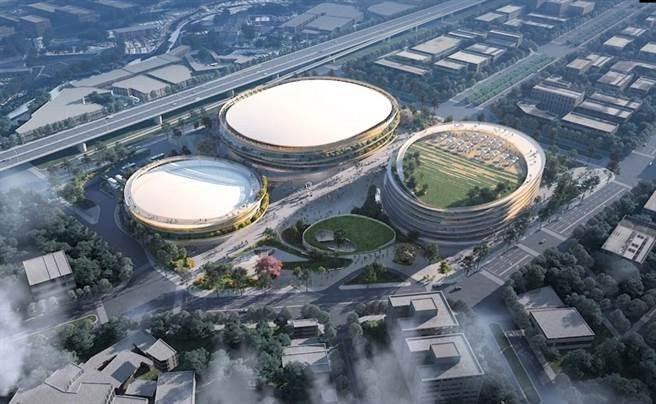 台中巨蛋目前在設計階段,預估5年後完工啟用。圖/台中市政府提供