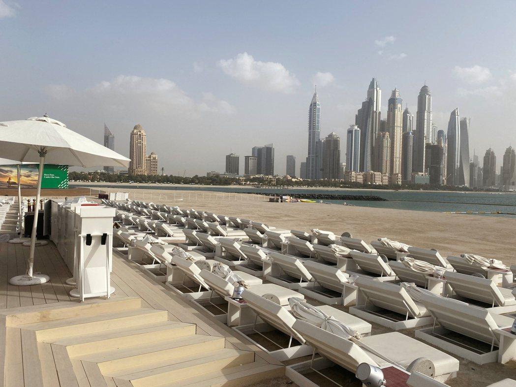 即使面臨新冠病毒疫情和區域競爭兩大不利因素,阿聯(UAE)人口最多城市杜拜仍馬不...