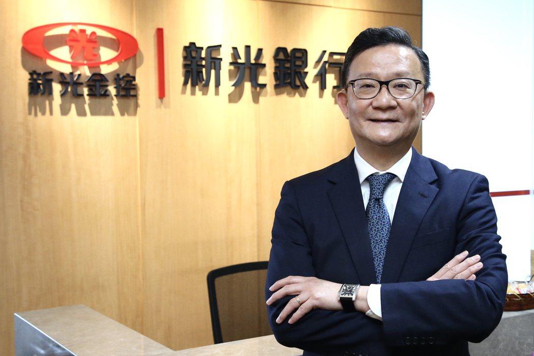 新光銀行總經理謝長融 記者林俊良/攝影