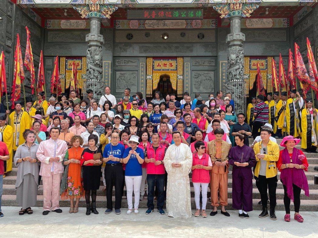 「台灣奇案」2.0版在高雄內門舉行開鏡記者會。圖/民視提供