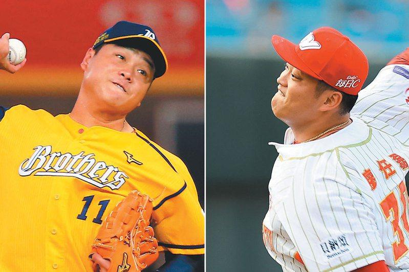 廖乙忠(左)、廖任磊(右)。圖/聯合報系資料照片