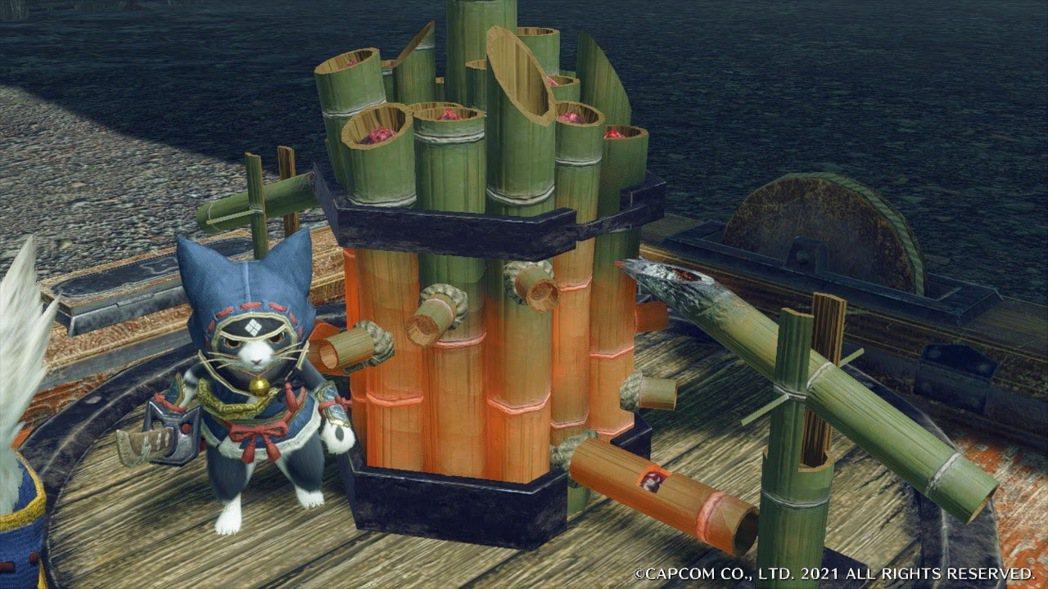 阻止敵人進攻的炸彈竟然是鹿威(日本庭園常見的流水裝置)?