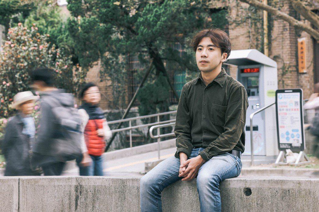 蔡志擎說,在創作或生活上,他很迫切地想抵達某個地方,但也會提醒自己要緩下來。 圖...
