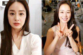 韓國第一美女金泰希41歲生日快樂!IG曬出謎之自拍照仍美翻,零死角逆齡高顏值看不出是兩寶媽