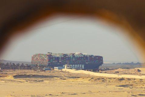大牌長榮啟示錄:蘇伊士運河搶通與「海怪巨輪」之必要?
