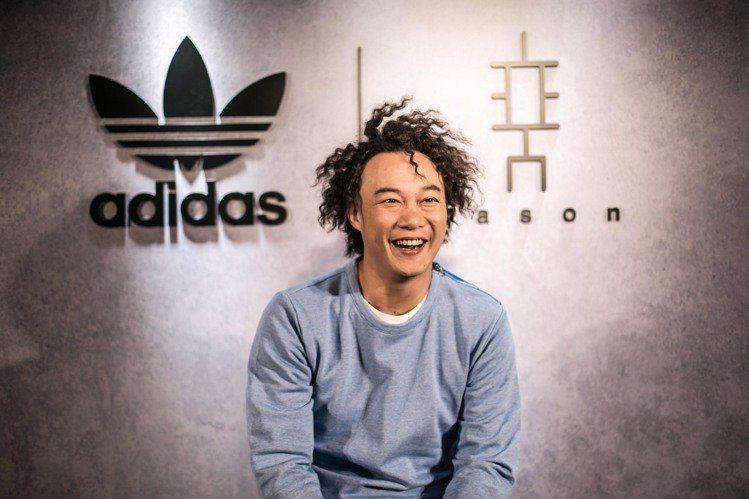 陳奕迅曾與adidas推出ㄧ系列的聯名款商品。 圖/adidas提供