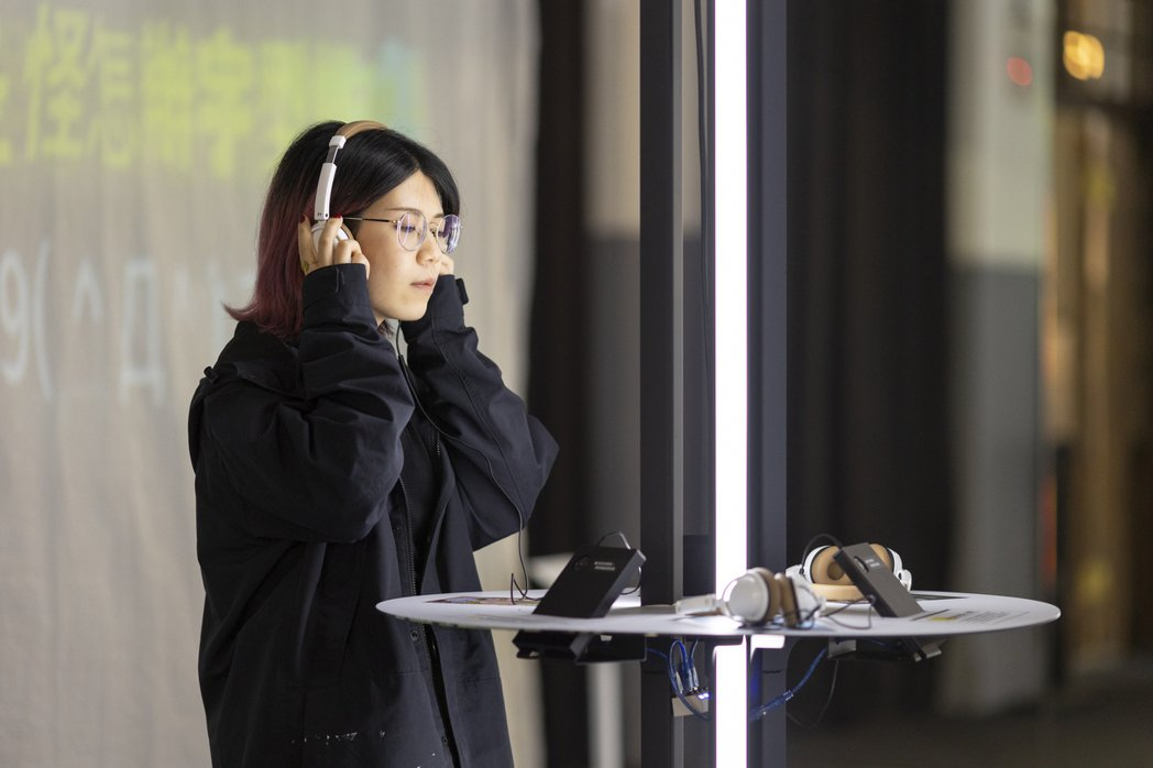 視網膜、凱莉、壹加壹獻聲演繹字體的說話之道。 圖/台灣設計研究院提供