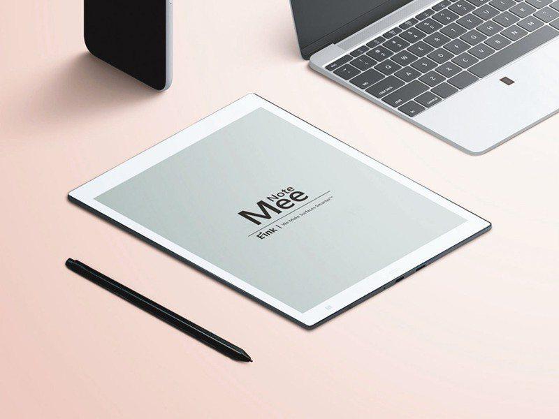 元太科技自主開發E Ink MeeNote電子紙筆記本系統榮獲竹科創新產品獎。(圖:元太提供)