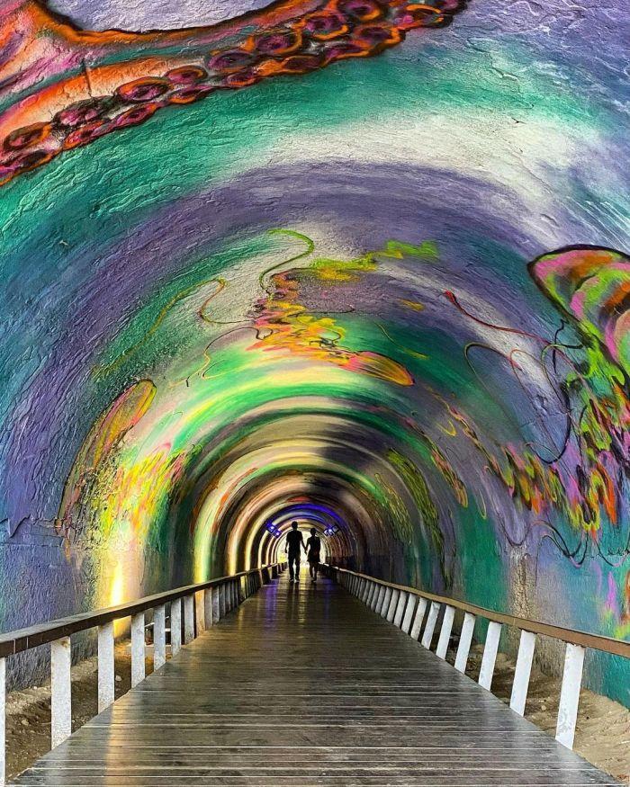 星空隧道。 圖/IG, tzuyilien