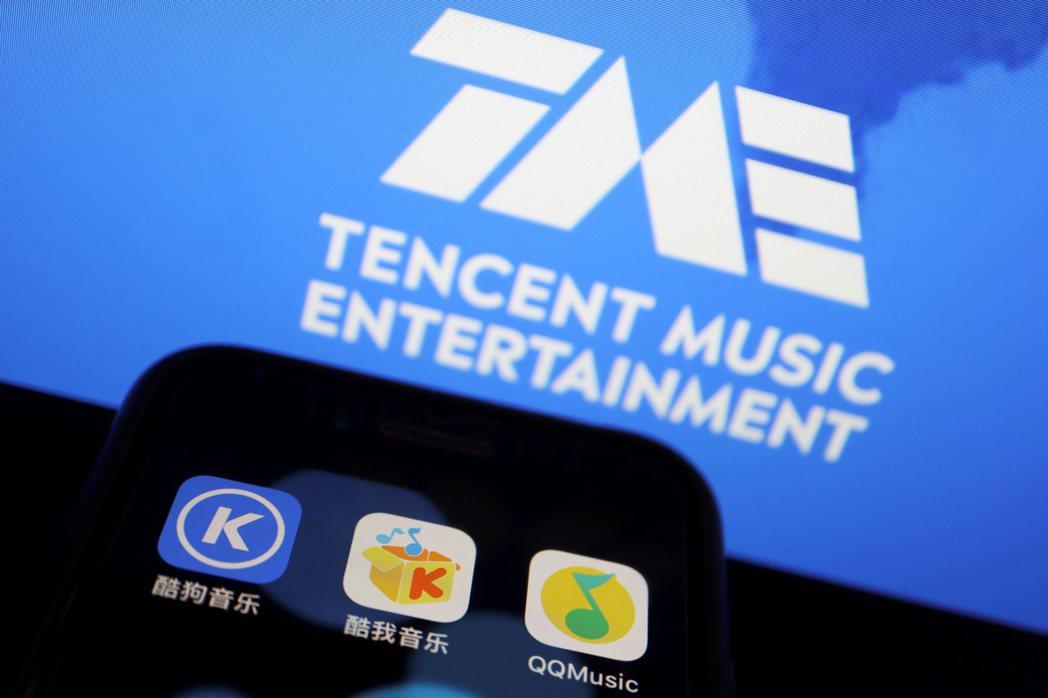 騰訊音樂ADR最近三個交易日崩跌37%。路透