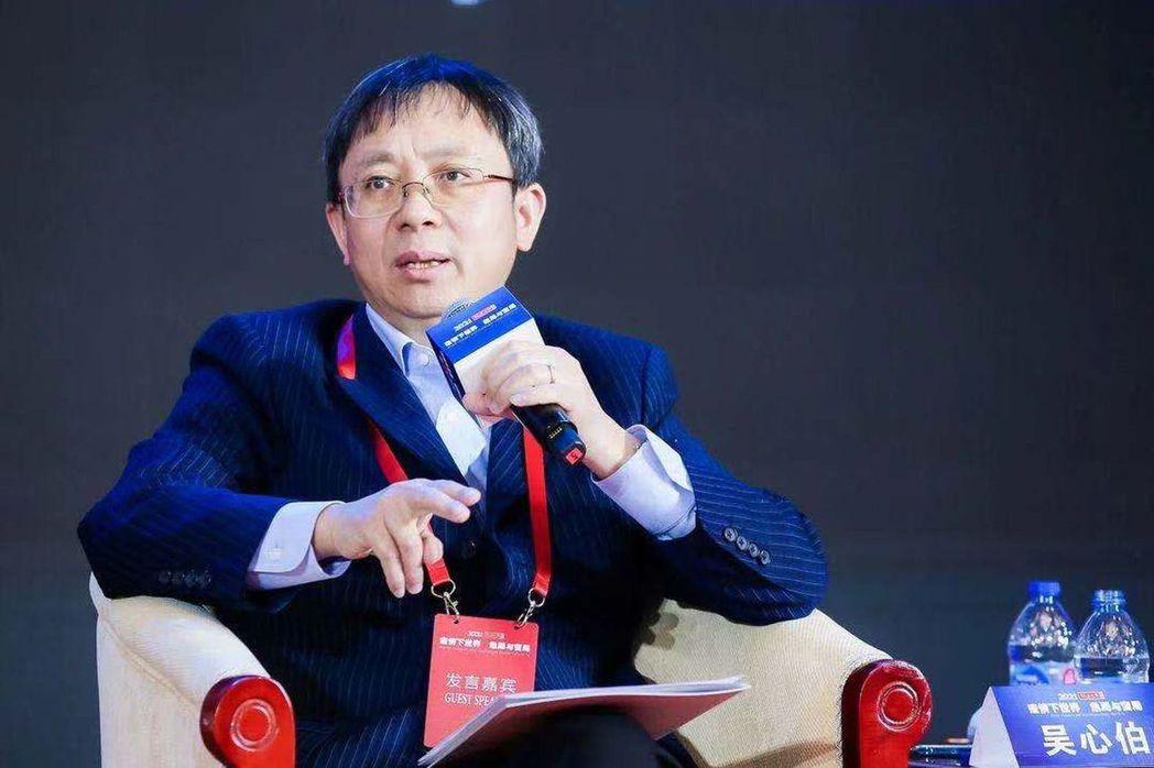 上海復旦大學國際問題研究院長吳心伯。(多維新聞)