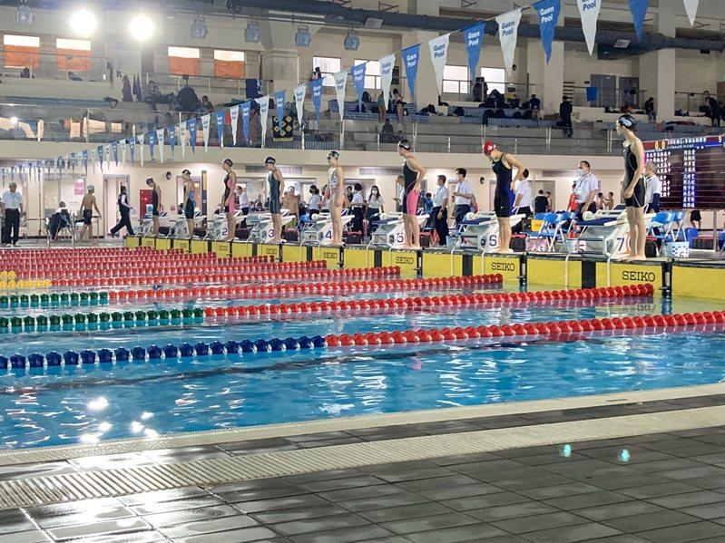 台中市公立泳池4月6日暫停開放,預備3處泳池供選手專用。圖/運動局提供