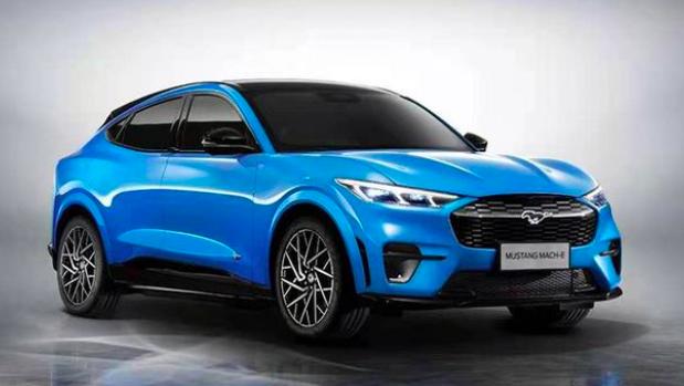 大陸國產Mustang Mach-E首台工程試製車已經下線,新車最快將於4月上海車展發布。百度圖庫