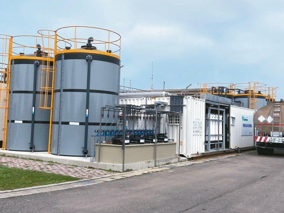 彰化鍊水建置的RO級移動式淨水設備,機動性高,有效提高水資源利用效率。彰化鍊水...