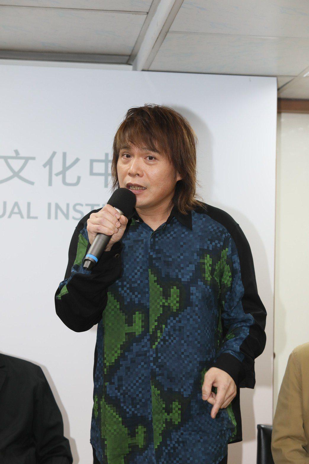 伍佰對於參與「少年吔,安啦!」原聲帶製作有很多回憶。記者李政龍/攝影