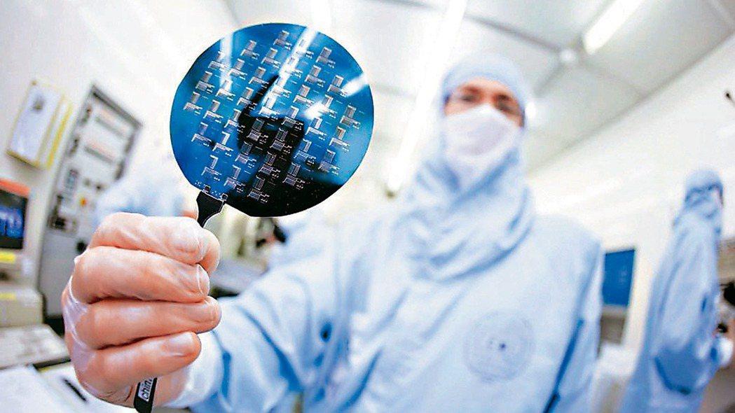 中國官方鼓勵半導體產業發展。 本報系資料庫