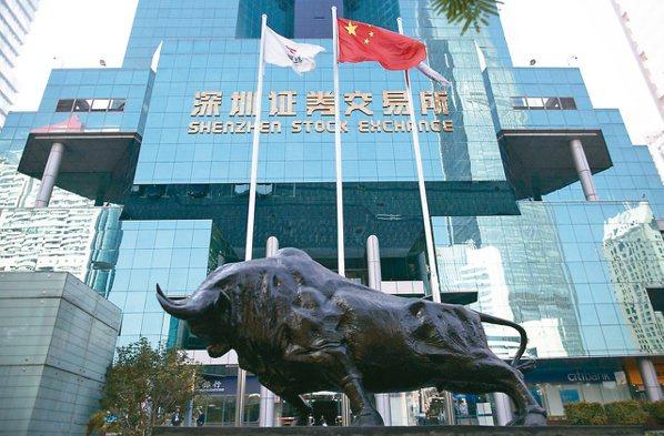 外資今年來買超陸股逾169億美元。(歐新社)