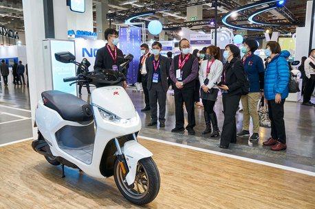 2021智慧城市展圓滿落幕!KYMCO Ionex 3.0廣受矚目
