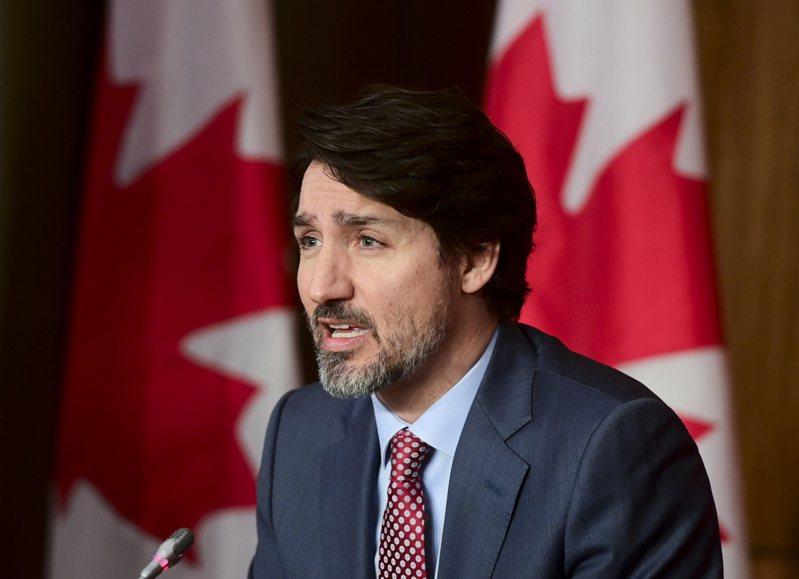 加拿大總理杜魯多,遭中國駐巴西里約熱內盧總領事李楊發文辱罵。(美聯社) 王若馨