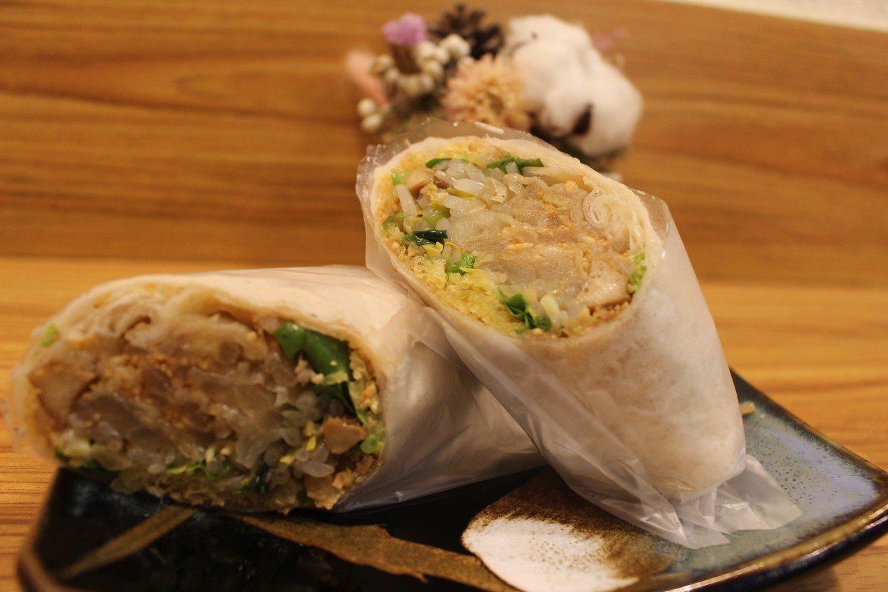 不只粽子有分北部粽、南部粽,其實潤餅也有南北之分哦!  圖/報系資料照片