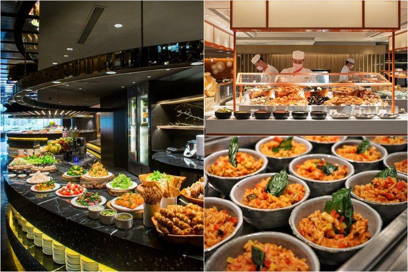 圖/Regent Taipei 晶華酒店臉書專頁、遠東Café官網、板橋凱撒大飯店提供