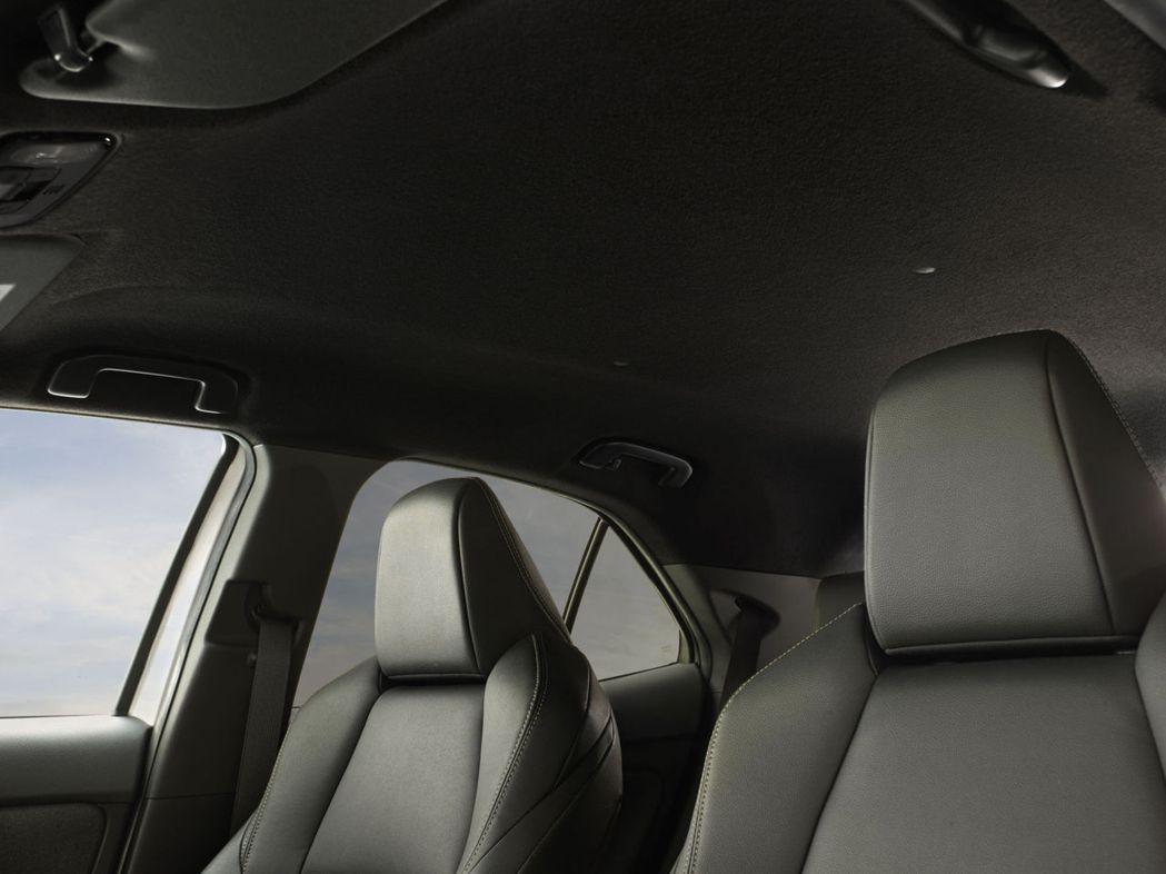 Adventure車型採黑色頂棚設計。  圖/Toyota提供