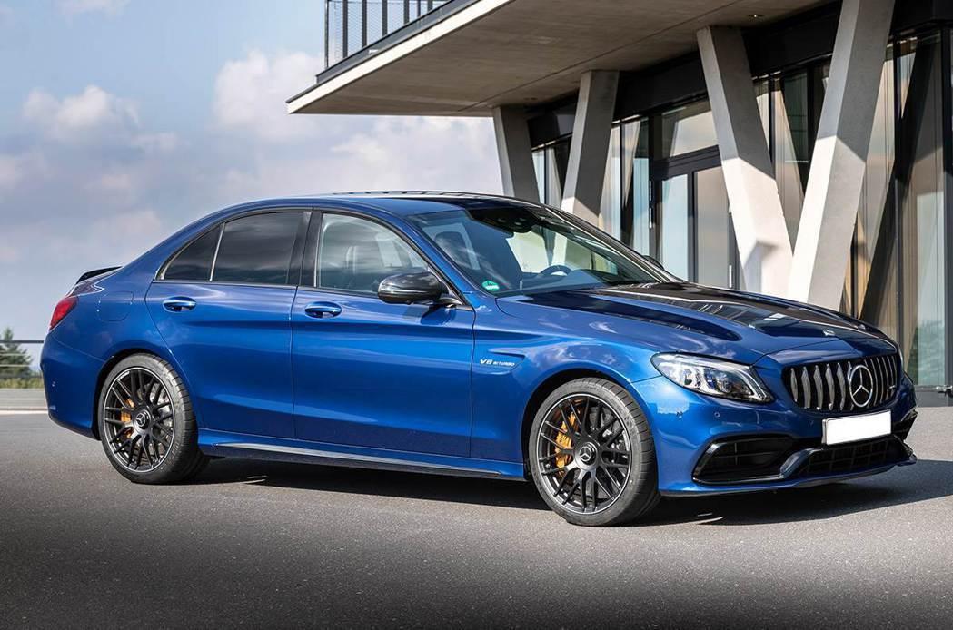 現行款Mercedes-AMG C63。 圖/Mercedes-AMG提供