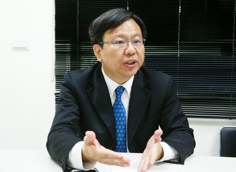 將來銀行總經理劉奕成閃辭。 本報資料照片