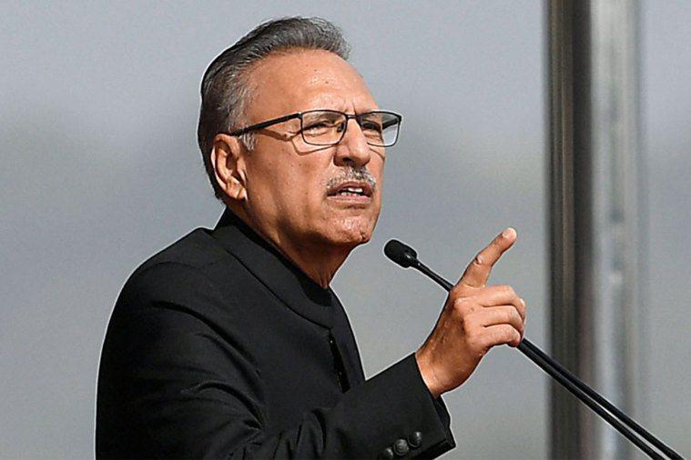 巴基斯坦總統艾維。法新社