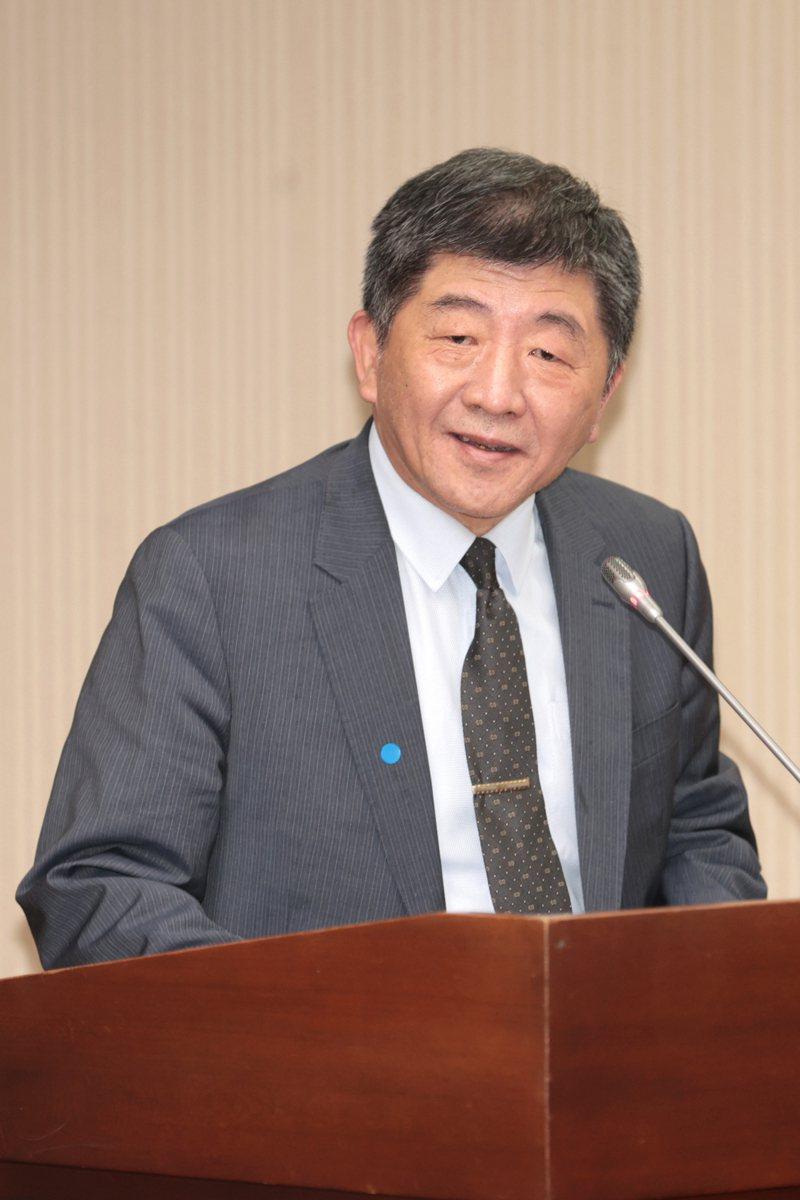 衛生福利部長陳時中。聯合報系資料照片/記者蘇健忠攝影