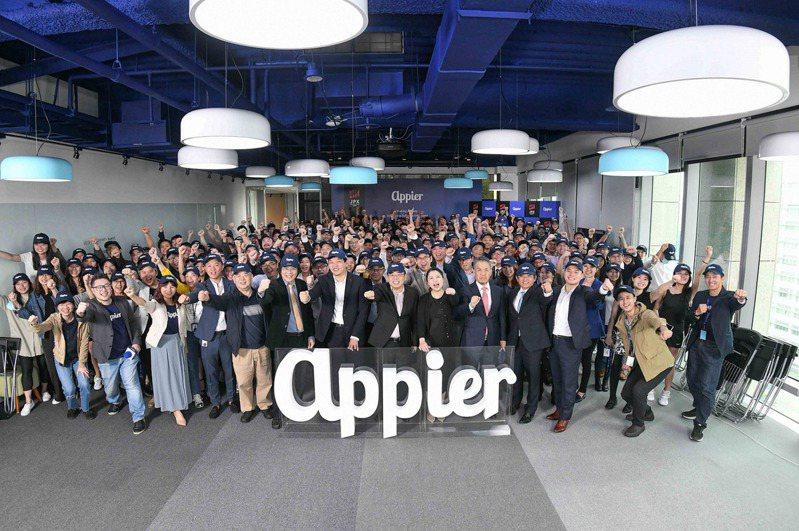 專精於人工智慧技術的沛星互動科技(Appier)30日在日本掛牌上市的台灣新創公司。(Appier提供)中央社
